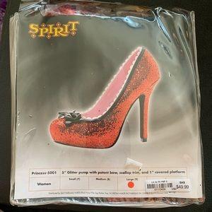 Ruby Red Glitter Heels! 👠